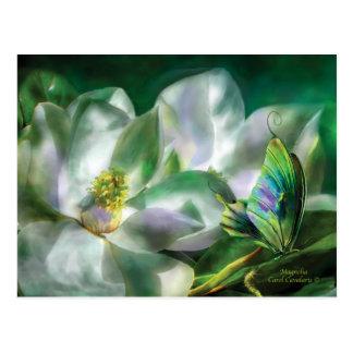 Postal de la magnolia