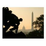 Postal de la mañana de Iwo Jima