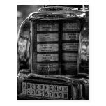 Postal de la máquina tocadiscos