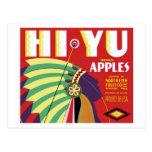 Postal de la marca de Hola-Yu