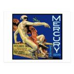 Postal de la marca de Mercury