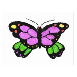 Postal de la mariposa