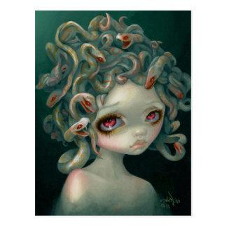"""Postal de la """"medusa pálida"""""""