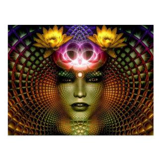 Postal de la mente de Lotus