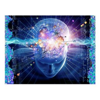 Postal de la mente de Quantum
