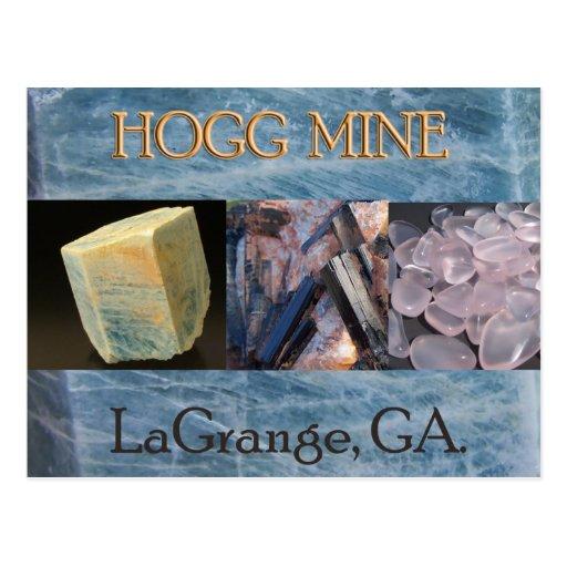 Postal de la mina de Hogg