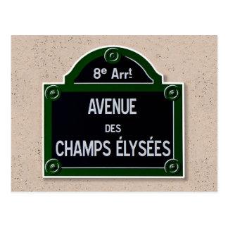 Postal de la muestra de Elysee de los campeones