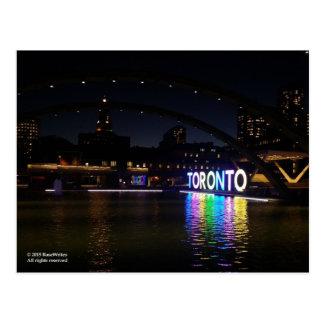 Postal de la muestra de Toronto Pan Am por