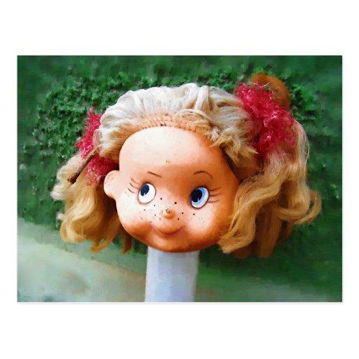 Postal de la muñeca