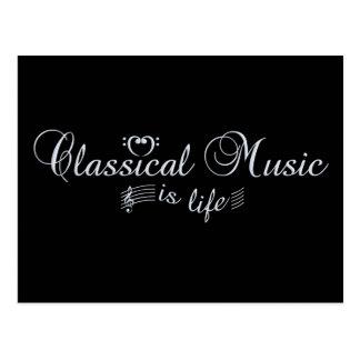 Postal de la música clásica