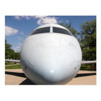 Postal de la nariz de aviones 1