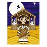 Postal de la natividad de José