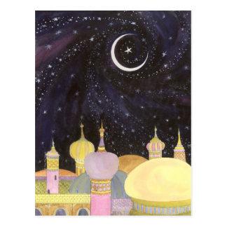 Postal de la noche árabe