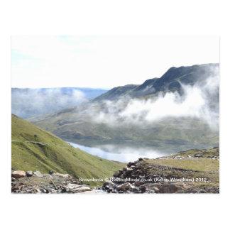 Postal de la nube de Snowdonia