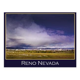 Postal de la nube del poder de Reno