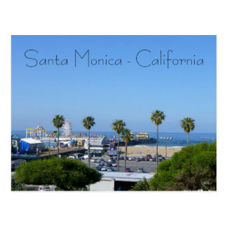 ¡Postal de la opinión de Santa Mónica! Postal