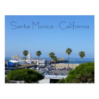 ¡Postal de la opinión de Santa Mónica!