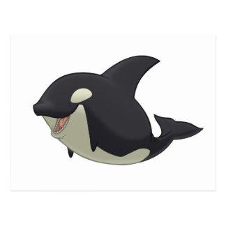 Postal de la orca