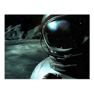 Postal de la perspectiva del cosmonauta