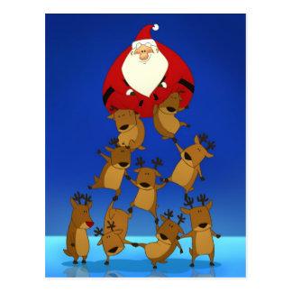 Postal de la pirámide de Santa