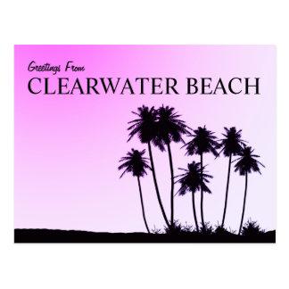 Postal de la playa de Clearwater