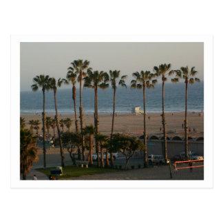 Postal de la playa de estado de Santa Mónica