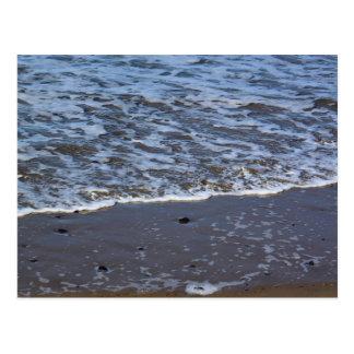 Postal de la playa de la ágata