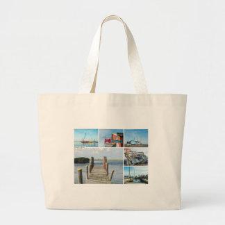 Postal de la playa de las glorietas bolsas