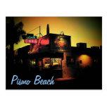 Postal de la playa de Pismo
