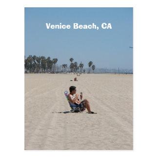 ¡Postal de la playa de Venecia de la diversión!