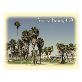 ¡Postal de la playa de Venecia del estilo del Tarjetas Postales