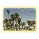 ¡Postal de la playa de Venecia del estilo del vint