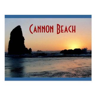 Postal de la playa del cañón