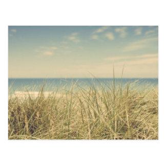 Postal de la playa del vintage