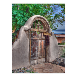 Postal de la puerta de Josefina