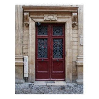 Postal de la puerta de París