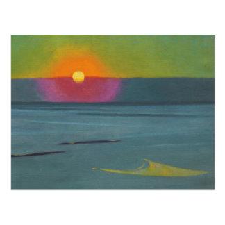 Postal de la puesta del sol CC0609 de Félix