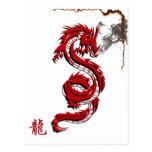 Postal de la quemadura del dragón