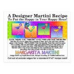Postal de la receta de Margarita Martini