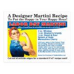Postal de la receta del cóctel de Martini del Día