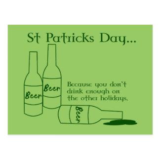 Postal de la receta del día de St Patrick