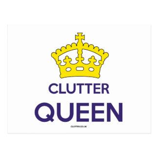 """Postal de la reina del montón"""