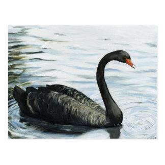 Postal de la reproducción del arte del pájaro del
