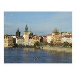 Postal de la República Checa de Praga