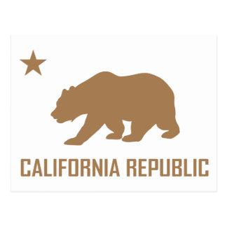 Postal de la república de California