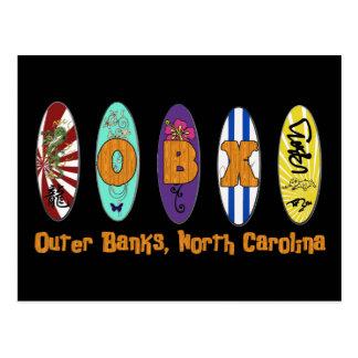 Postal de la resaca de OBX Outer Banks
