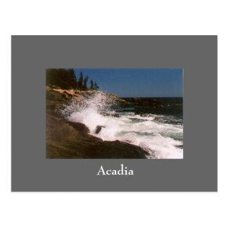 Postal de la resaca del Acadia - 1