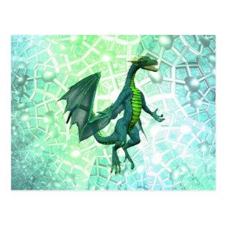Postal de la respiración de los dragones
