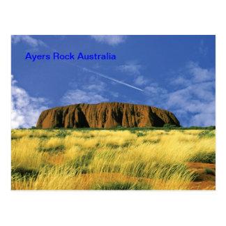 Postal de la roca de Ayers