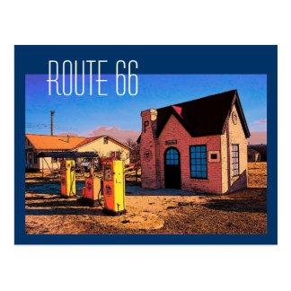 Postal de la ruta 66